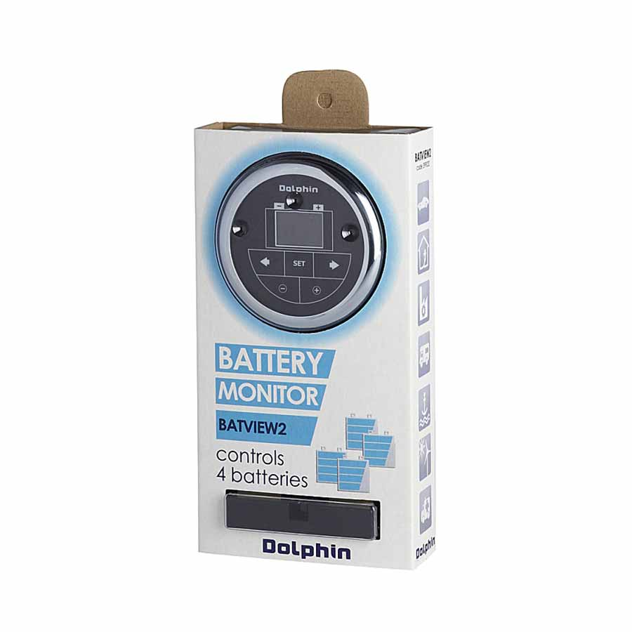 Marine Battery Charger And Monitor : Dolphin battery monitor tides marine international